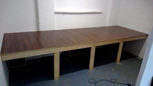 Finished Work Bench